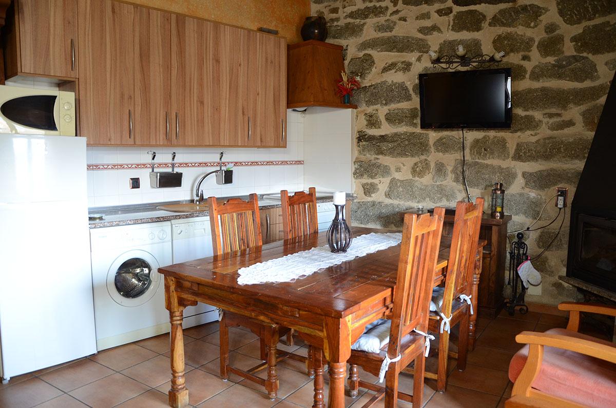 Mirador del Alberche II - Cocina